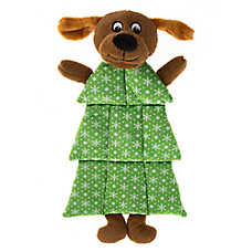Pet Holiday™ Tree Dog Squeaker Mat Dog Toy