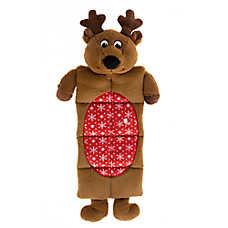 Pet Holiday™ Reindeer Squeaker Mat Dog Toy