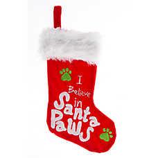 Pet Holiday™ Santa Paws Stocking