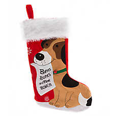 Pet Holiday™ Bones Wishlist Stocking