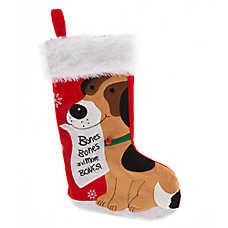 Pet Holiday™ Bones Wishlist Stocking