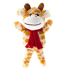 Pet Holiday™ Giraffe Plush Dog Toy