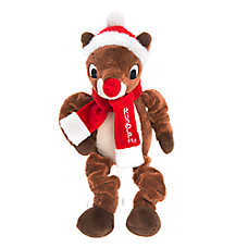 Pet Holiday™ Rudolph Bungee Dog Toy
