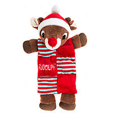 Pet Holiday™ Rudolph Mat Dog Toy
