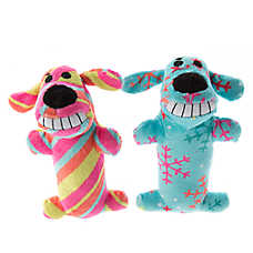 Pet Holiday™ Bobo Winter 2-Pack Short Dog Toy