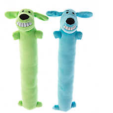 Pet Holiday™ Bobo Winter 2-Pack Long Dog Toy