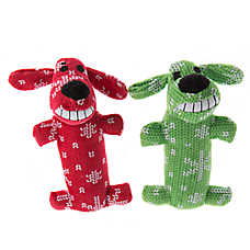 Pet Holiday™ Bobo Traditional 2-Pack Short Dog Toy