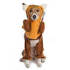 Star Wars™ Pet Halloween Running Ewok Pet Costume