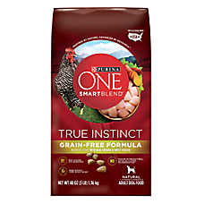 Purina ONE® Smartblend® True Instinct Adult Dog Food - Grain Free, Chicken & Sweet Potato