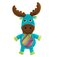 Pet Holiday™ Winter Moose Flattie Dog Toy