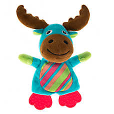 Pet Holiday™ Winter Moose Teether Dog Toy