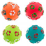 Pet Holiday™ Winter Vinyl Balls 4-Pack Dog Toy