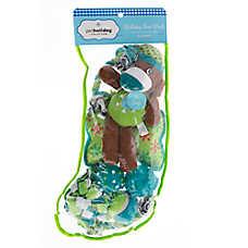Pet Holiday™ Winter Sock Monkey 8-pack Dog Toy