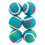 Pet Holiday™ Winter Tennis Balls 6-Pack Dog Toy