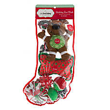 Pet Holiday™ Traditional Reindeer 8-Pack Dog Toy