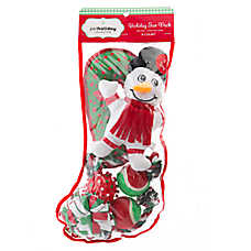 Pet Holiday™ Winter Snowman 8-Pack Dog Toy