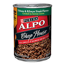 Purina® ALPO® Chop House Dog Food - T-Bone & Ribeye Steak