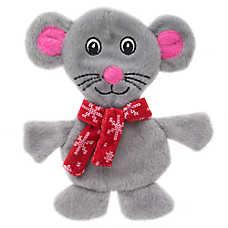 Pet Holiday™ Mouse Flattie Dog Toy