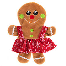 Pet Holiday™ Gingergirl Flattie Dog Toy