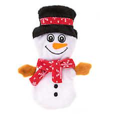 Pet Holiday™ Snowman Flattie Dog Toy