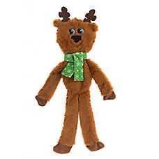 Pet Holiday™ Reindeer Flattie Dog Toy