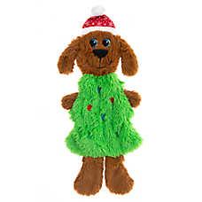 Pet Holiday™ Tree Dog Flattie Dog Toy