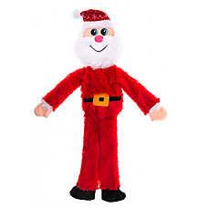 Pet Holiday™ Santa Flattie Dog Toy