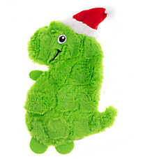 Pet Holiday™ T-Rex Flattie Dog Toy