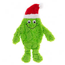 Pet Holiday™ Green Long Monster Flattie Dog Toy