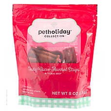 Pet Holiday™ Tasty Strips Dog Treat - Bacon