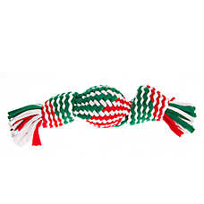 Pet Holiday™ Woven Rope Ball Dog Toy