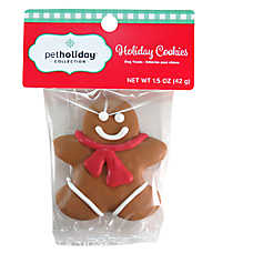 Pet Holiday™ Holiday Cookies Gingerbread Man Dog Treat