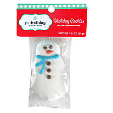 Pet Holiday™ Holiday Cookies Snowman Dog Treat