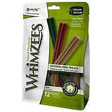 WHIMZEES Dental Care Sticks Medium Dog Treat - Nautral, Gluten Free, Vegetarian