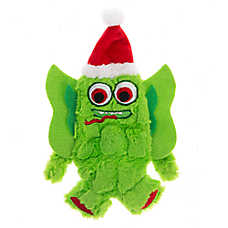 Pet Holiday™ Green Monster Flattie Dog Toy