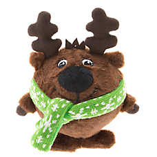 Pet Holiday™ Reindeer Body Ball Dog Toy