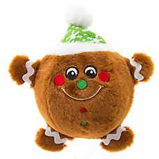 Pet Holiday™ Gingerbread Boy Body Ball Dog Toy
