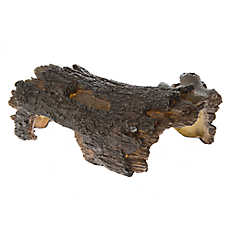 All Living Things® Wood Hiding Reptile Ornament