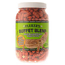 Fluker's Freeze Dried Veggie Buffet Blend for Adult Bearded Dragons