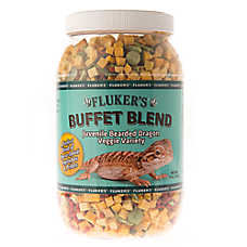 Fluker's Freeze Dried Veggie Buffet Blend for JunvenileBearded Dragons