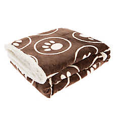 Pet Holiday™ Paw Circle Pet Throw Blanket