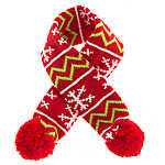 Pet Holiday™ Knit Dog Scarf