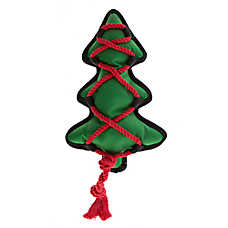 Pet Holiday™ Ballistic Tree Rope Dog Toy
