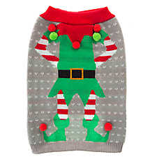 Pet Holiday™ Elf Dog Sweater