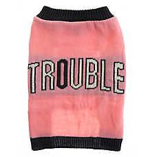 "Grreat Choice® ""Trouble"" Dog Sweater"