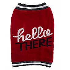 "Grreat Choice® ""Hello There"" Dog Sweater"
