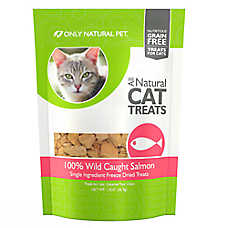 Only Natural Pet Freeze Dried Wild Salmon Bites Treat