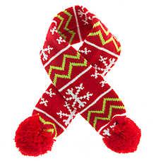 Pet Holiday™ Knit Dog Scarf