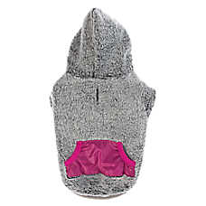 Top Paw® Solid Fleece Dog Hoodie