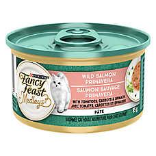 Fancy Feast® Elegant Medleys® Adult Cat Food - Salmon Primavera